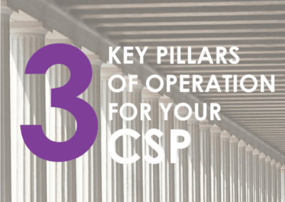 Three Key Pillars Of Operation For Your CSP