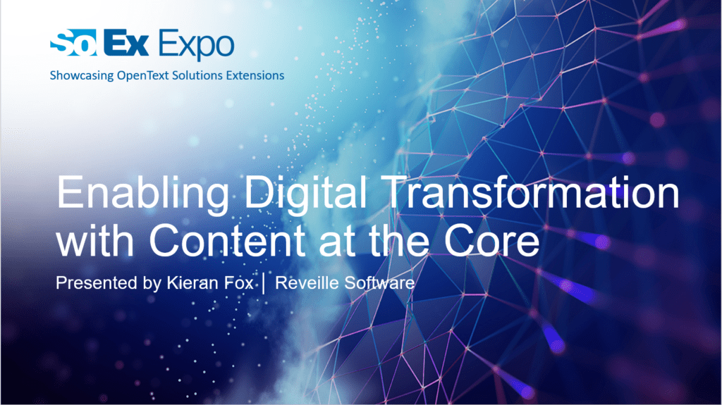 Webinar: Customer Success - Enabling Digital Transformation With Content At The Core