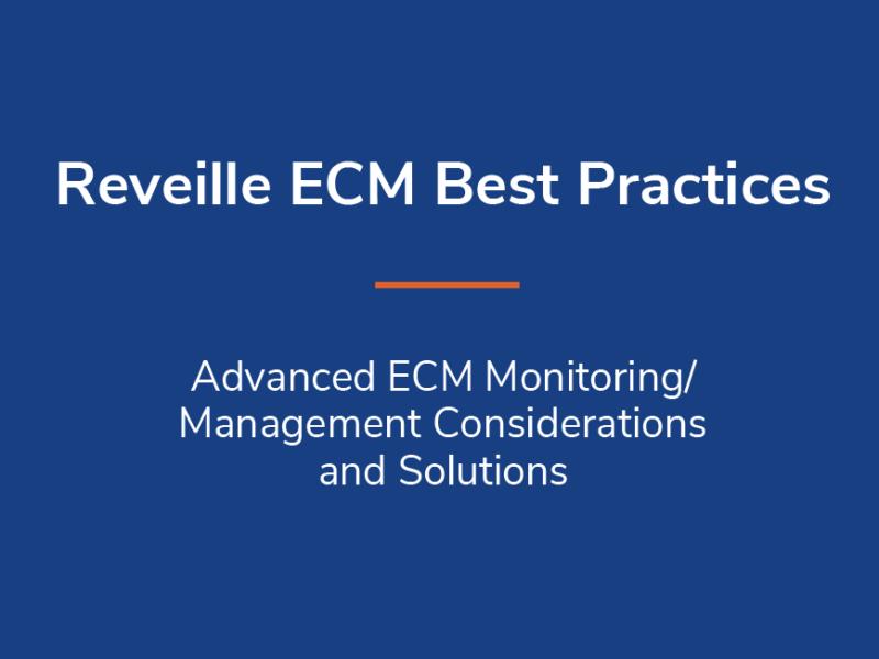 ECM Best Practices