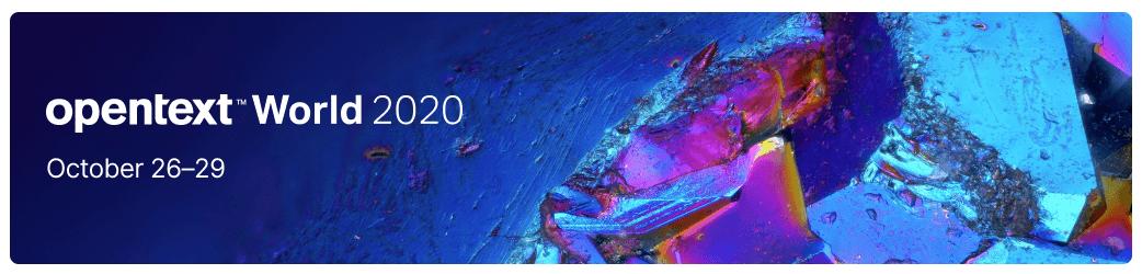 OpenText World 2020