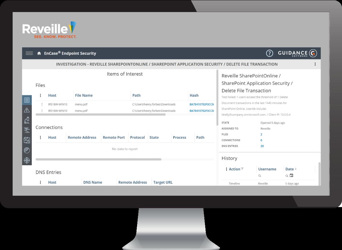 Reveille Encase Content Security