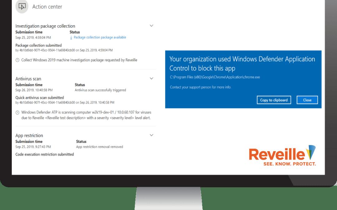 Reveille Microsoft Defender ATP Integration