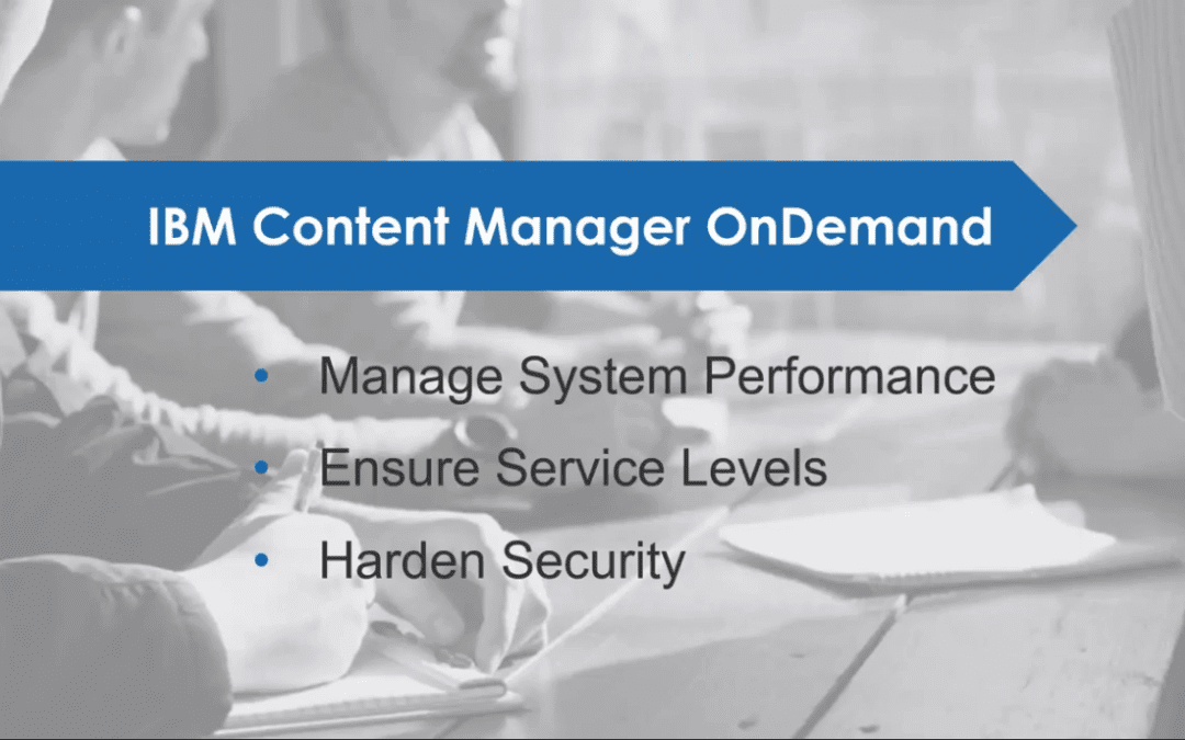 IBM CONTENT MANAGER ONDEMAND (CMOD)
