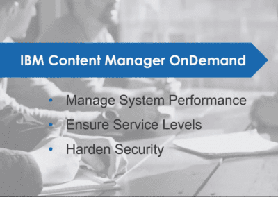 IBM CONTENT MANAGER ONDEMAND (CMOD)