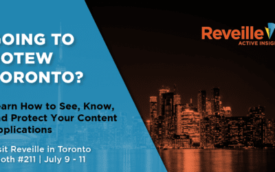 Reveille Unveils New Product Integrations At OpenText Enterprise World
